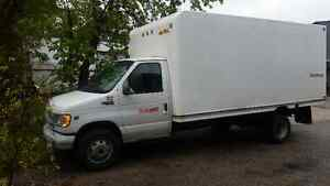 2002 Ford cube van a MUST see!!