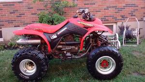 Honda quad for sale or trade