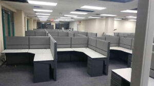Workstations and Filing Cabinets - HUGE SELECTION