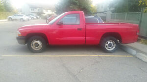 2001 Dodge Dakota Sport regular cab only 65,000km