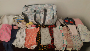 Tones of baby girl item's 0-18months