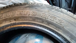235/60R18 all season tires (4 tires only, no rims)