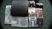 PS3 Console  320GB With 8 Games