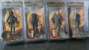 The Hunger Games figurines - NEW