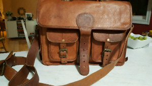 Assorted Leather and Canvas Bags