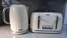 Breville Impressions Collection Kettle & 4 slice Toaster Bundle