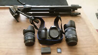 samsung nx30 20.3 mp mirrorless camera. barely used