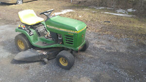 2 John Deere Riding Lawnmower