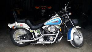 Harley Davidson 1993 Softail Custom Modifiée LowBoy