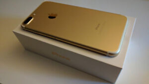 FACTORY UNLOCKED APPLE IPHONE 7 PLUS 128GB GOLD BOXED $599
