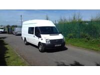 2012 Ford Transit Jumbo 155 Crewvan# only 1 in uk#