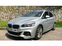 BMW 2 Series 220i M Sport 5dr - Satellite Navigation System and Auto Hatchback P