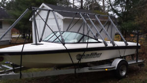 Navigloo boat cover for winter