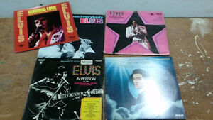 5 Elvis Record Albums