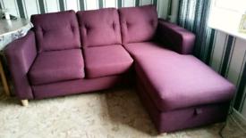 Corner sofa £150