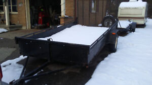 6 Feet by 12 Feet Trailer For Sale