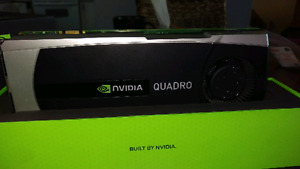 Video card, Quadro graphics card