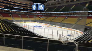 LEAFS Scotia Club Reds 17 game package Section 105 Row 24