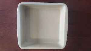 Pampered Chef Stoneware Square Baking Pan
