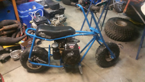 Baja Dirt Bug mini bike 5hp Honda