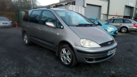 Ford galaxy 1.9 Tdi Ghia family 7 seater Long Mot hpi clear
