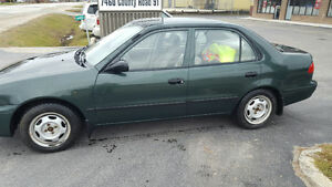 2002 Toyota Corolla green Other Kawartha Lakes Peterborough Area image 1