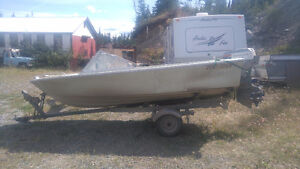 Sangster Fibreglass Boat and trailer for Sale - motor negotiable