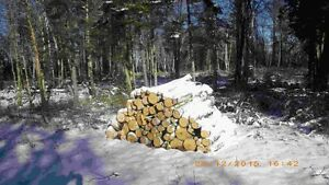 half cords of firewood  u pick up