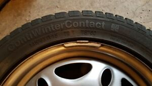 Smart Car Snow Tires with rims / wheels 185/60R15   145/65R1