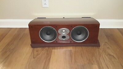 Polk CSI-A6 Center Channel Speaker in Cherry Wood Finish