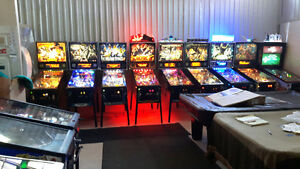PINBALL MACHINES       NEW AND USED