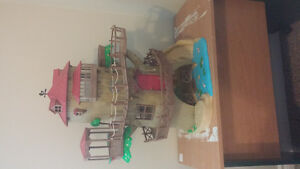Calico critters discontinued tree house and accessories