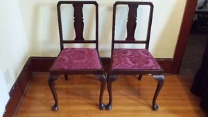 Pair of Antique Dining Chairs Kingston Kingston Area image 1