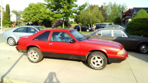 1987 Ford Mustang 5.0 LX 176km