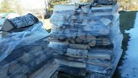 mixed firewood for sale on skids.