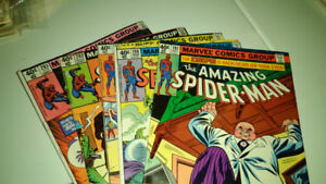 Comics spiderman . Various prices