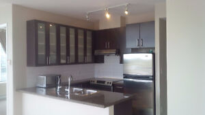 Rare 2BR South East Corner Unit in OMA2 near Brentwood/Skytrain
