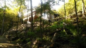 Waterfront (lac Echo) cottage for sale on 2.21 acres - Gore,Qc