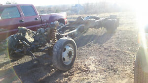 ROLLING CHASSIS OR SELL INDIVIDUAL PARTS OFF 2008 FORD F-450