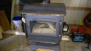 Gas fireplace and chimney