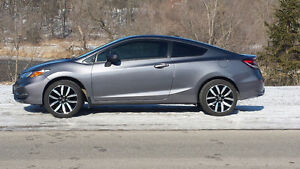 2015 Honda Civic EX-L Coupe w. Honda 6Y/160K Extended Warranty