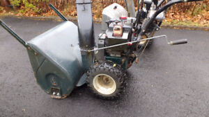 two craftsman snowblowers