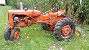 1951 Allis Chalmers CA row crop tractor