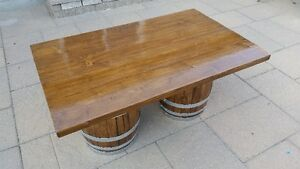 Wine Barrel Coffee Table Kitchener / Waterloo Kitchener Area image 4
