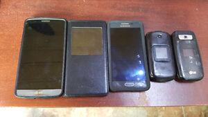 Plusieurs cellulaires à vendre
