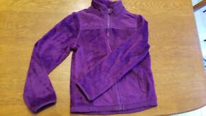 Girl's furry jacket