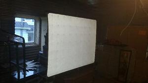 Toile pour projecteur ancien