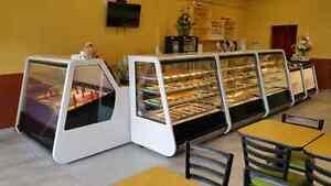 Bakery Pastry Gelato Ice-Cream Display Cases Truffles Chocolate