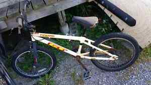 Yellow GT Compe BMX