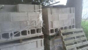 4 skids of block for sale quick sale must go by weekend